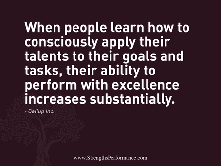 To perform with excellence