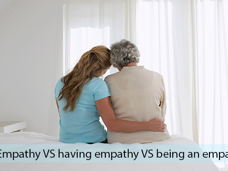 Empathy: understanding the three variations