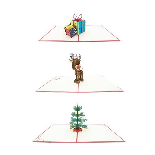 Weihnachtsset (3 Karten)