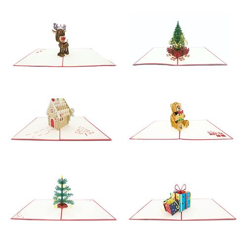 Weihnachtsset (6 Karten)