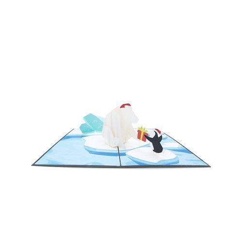 Pinguin & Eisbär
