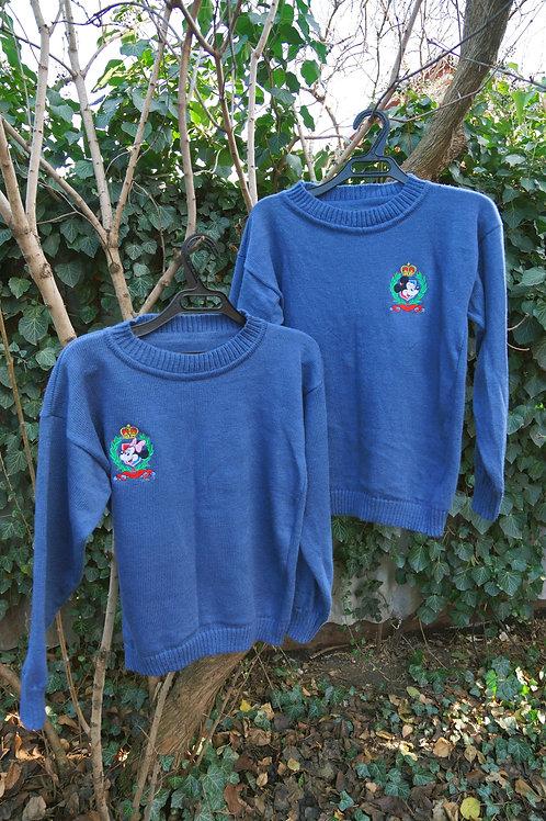 """Классический свитер с вышивкой """"Микки"""""""