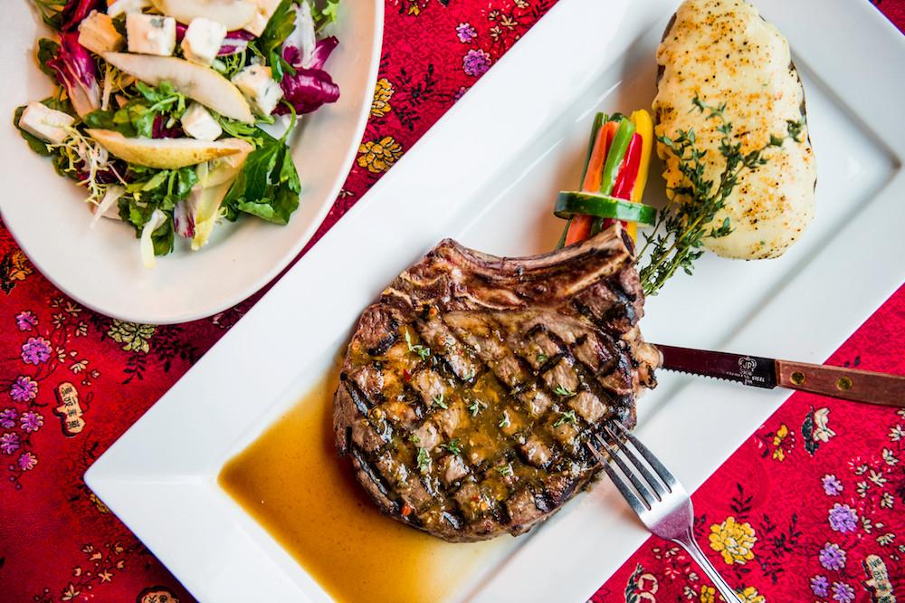 Chimichurri Rib Eye Steak