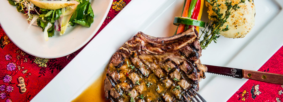 Chimichurri Rib Eye Steak