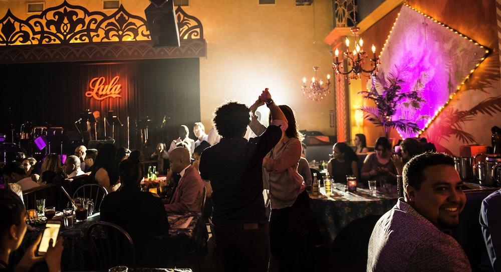 Lula Lounge Dinner Tables
