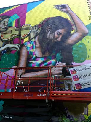 Toronto Valparaiso Creative Cities Cultural Exchange Mural