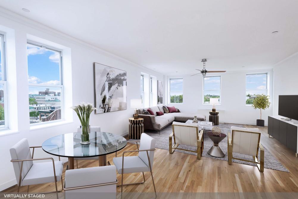 25 Bergen Street 5B Living Room