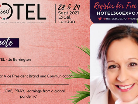 3 Questions with Jo Berrington, SVP at YOTEL, and speaker at Hotel360