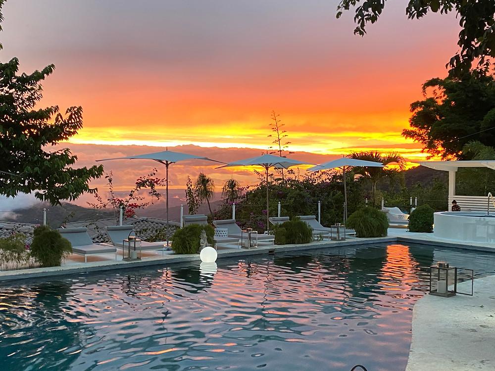 Sunset at The Retreat Costa Rica/ Photos courtesy of The Retreat Costa Rica