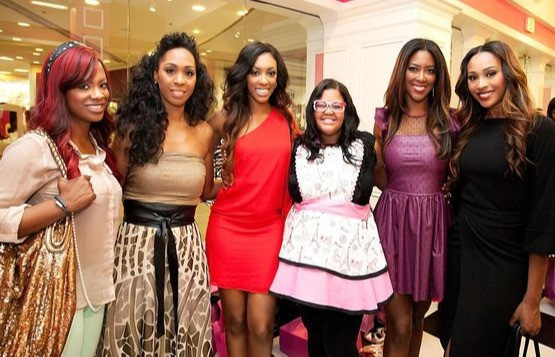 Tiffany N. Young with the Real Housewives of Atlanta