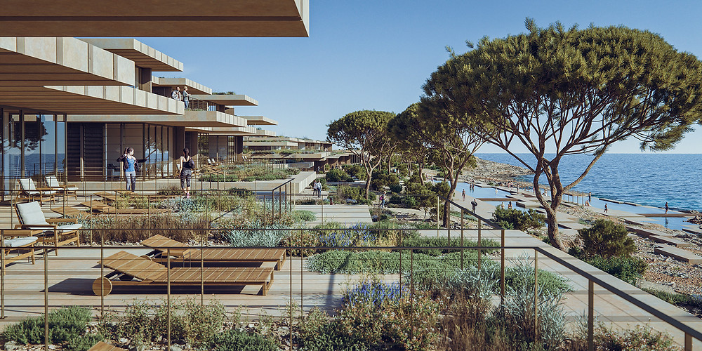 Rendering of Comino Hotel and Villas by HV Hospitality