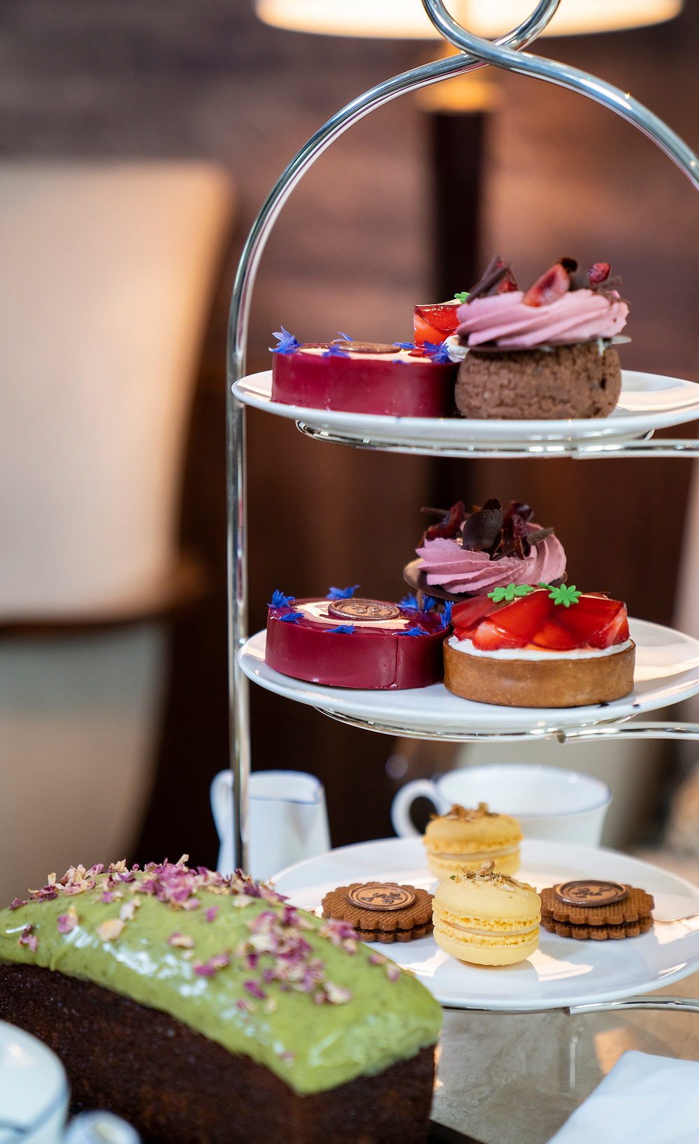 Afternoon Tea Pastries, London