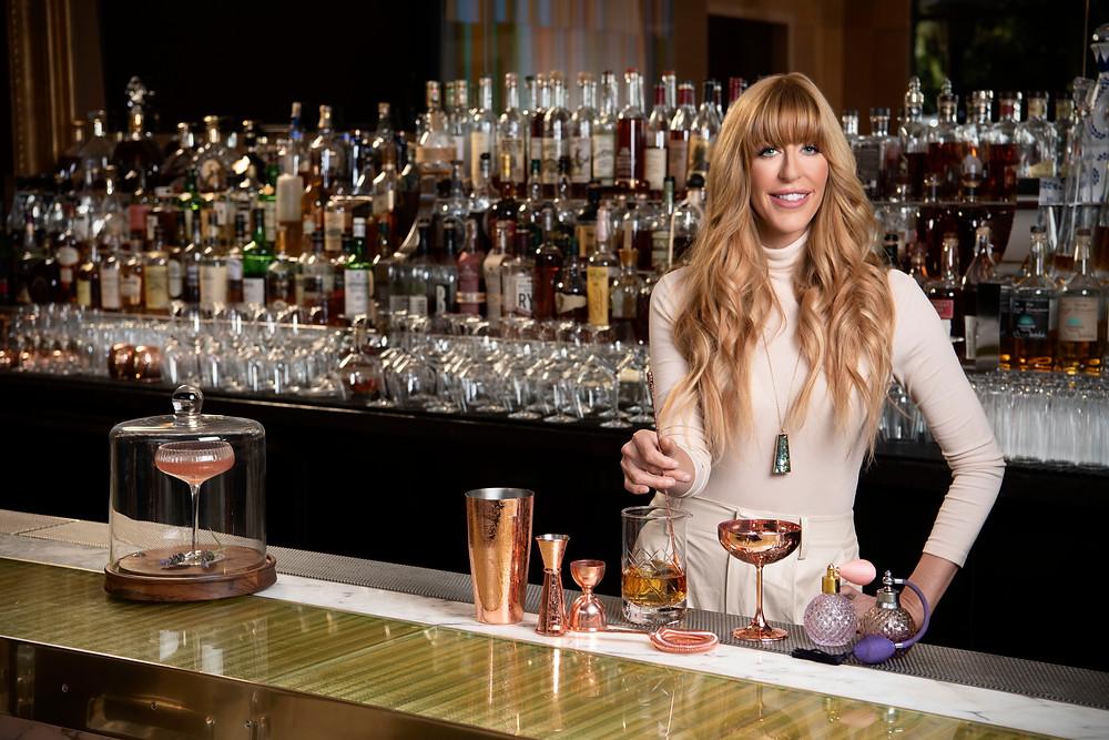 Mariena Mercer Boarini, mixologist at the Wynn Las Vegas
