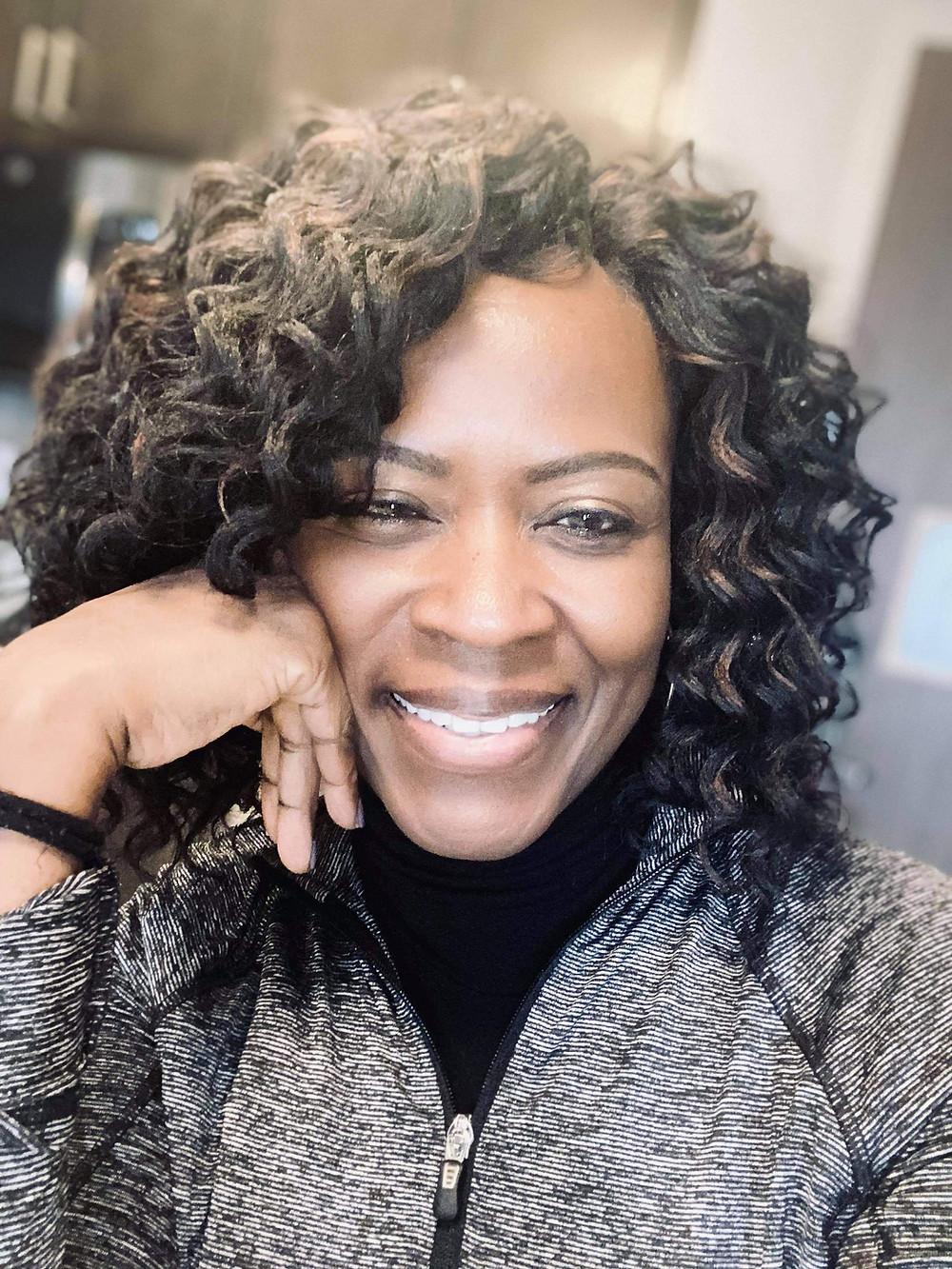 Vera Williams, successful over 50 job candidate