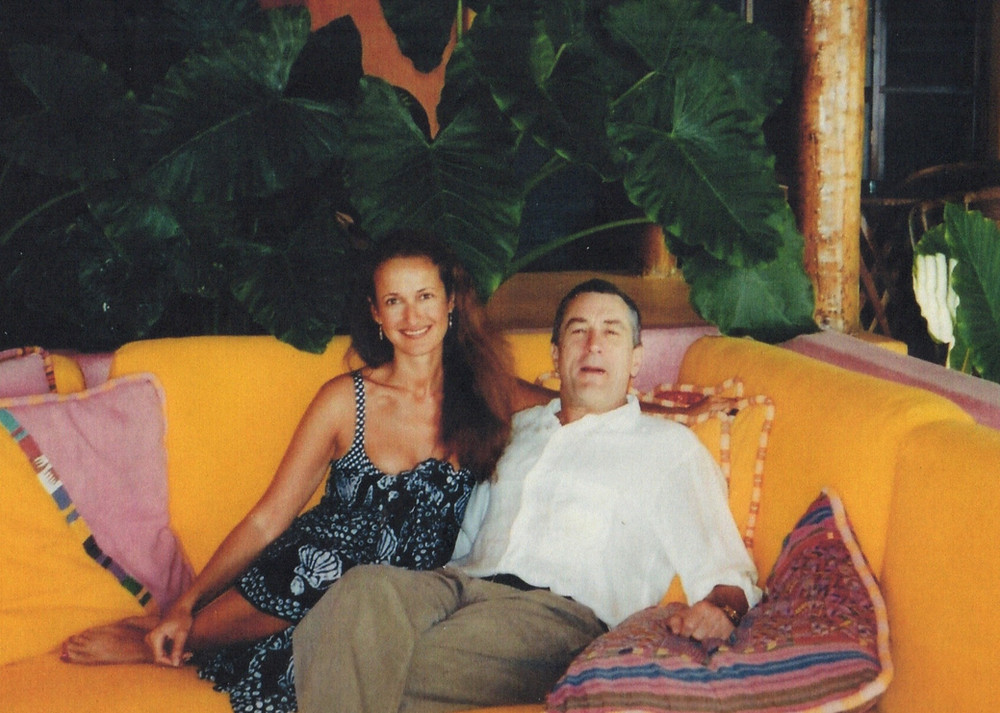 Robert De Niro and Isabel Goldsmith-Patino at Las Alamandas