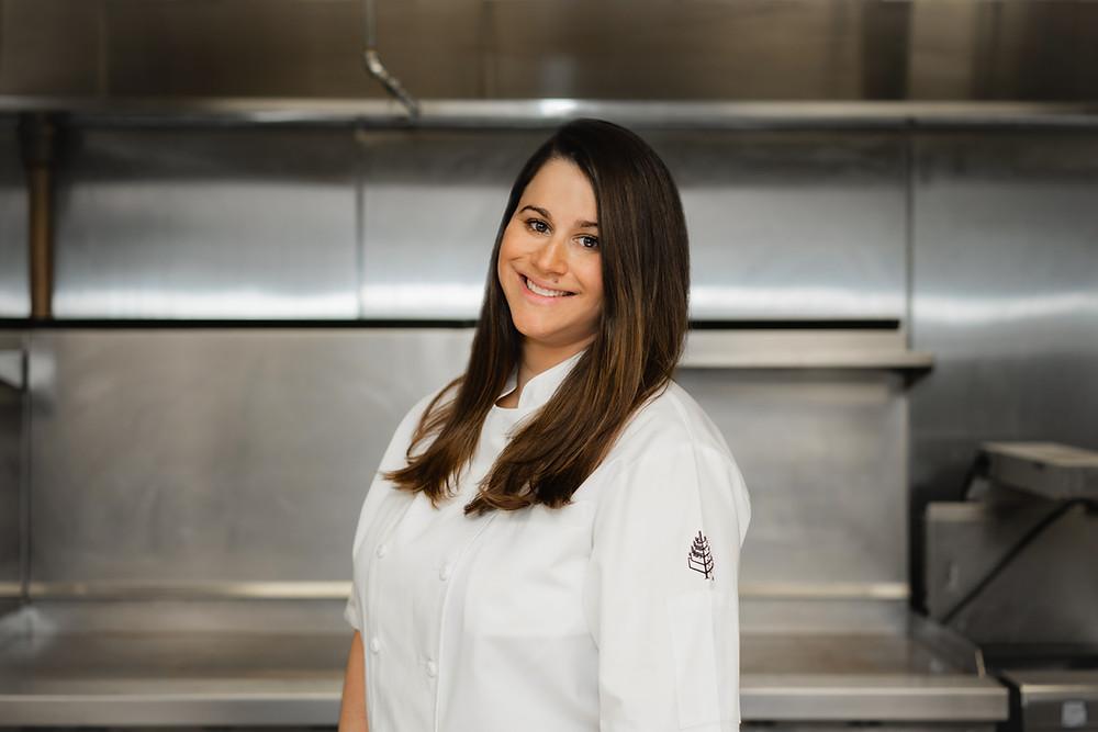 Maria Tampakis, Executive Chef, Four Seasons Hotel New York Downtown