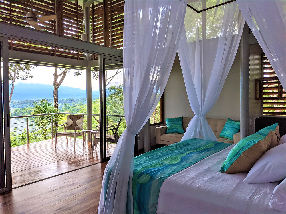 View from a suite at Cielo Lodge, Costa Rica