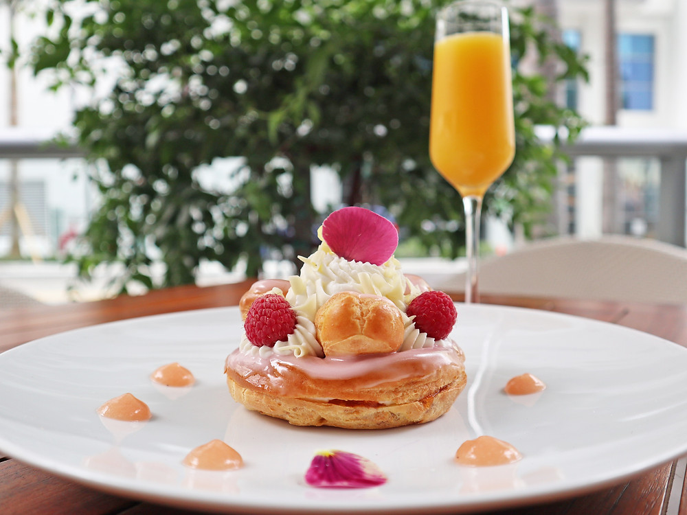 Fruit St. Honore, photo courtesy of  Boulud Sud Miami