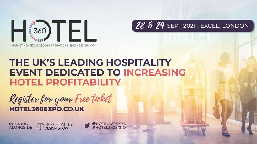 Mark Your Calendars: Hotel360 in London September 28-29