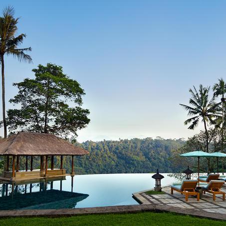 Amandari resort in Bali / image courtesy of Aman