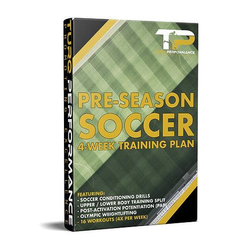 Pre-Season Soccer - 4-Week Training Plan