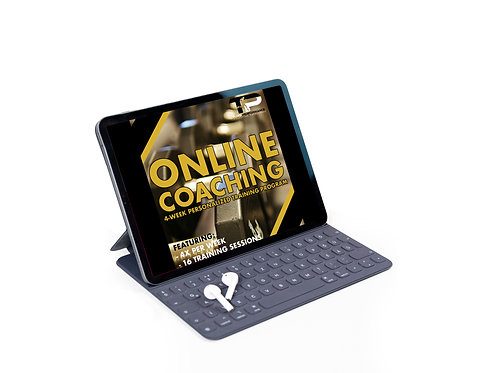 Online Coaching - 4x Week (16 Training Sessions)