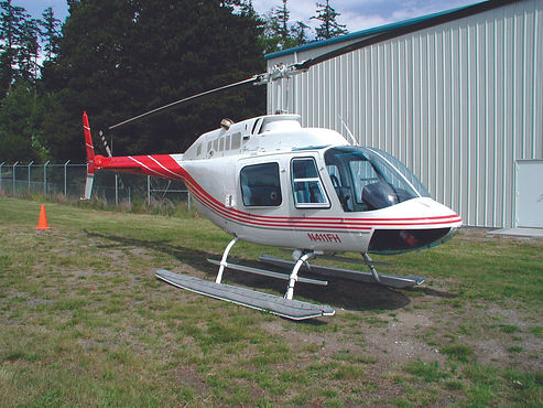 Holds three passengers. The R44 is one of the world's best selling and most popular civilian helicopter. Its large windows provide an unmatched view, while its size and maneuverability make for an unforgettable ride. The Clipper desi