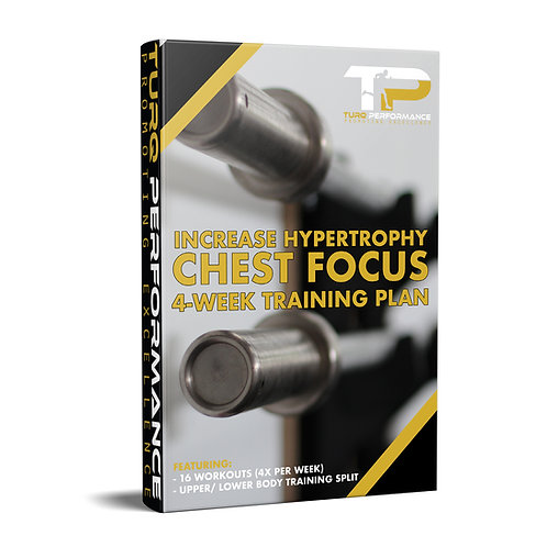Increase Hypertrophy (Chest Focus)