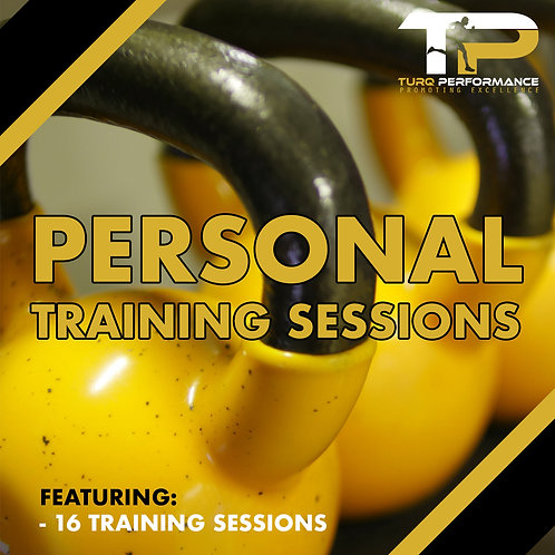 SIXTEEN Personal Training Sessions