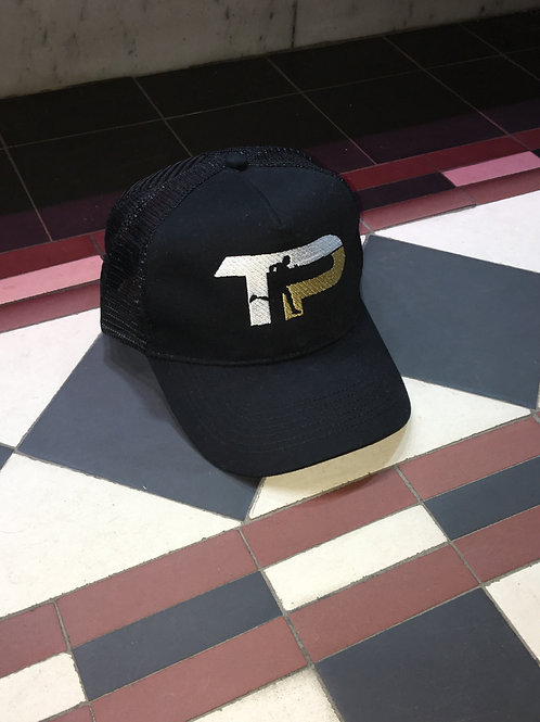 TURQ PERFORMANCE Sample Trucker Cap BLACK