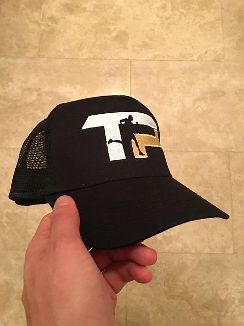 TURQ PERFORMANCE Luxury Trucker Cap BLACK