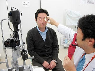 眼底検査画像