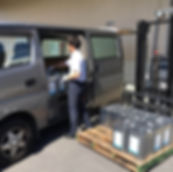 工業用塗料の出荷