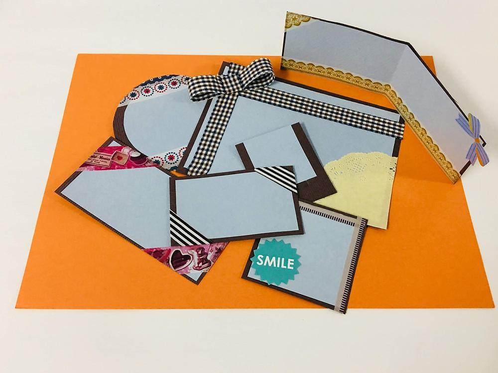 手作りメッセージカード