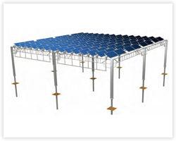 ソーラーパネルの角度を自由に変更出来る