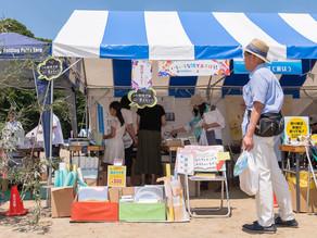 水戸市環境フェアにてインサツと暮らし。茨城印刷緑友会様とコラボ出店しました。