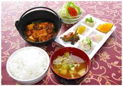 麻婆豆腐定食