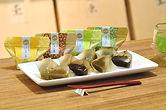 お茶葛餅4個セット(抹茶・ほうじ茶・煎茶・玄米茶)