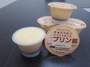 瑞穂農場産生乳を使用したプリンが販売開始