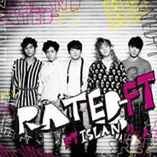 FTISLAND 3rd Album「RATED-FT」