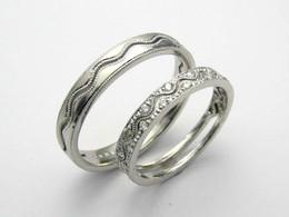 Mens Ring Pt900 Ladies Ring Pt900 ダイヤモンド