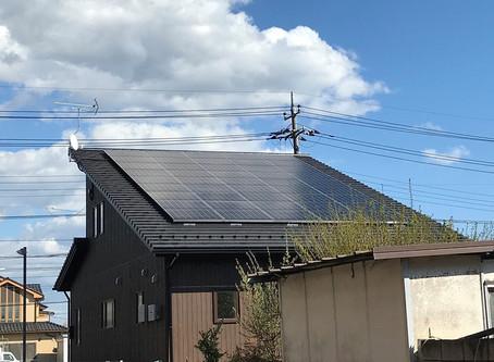 栃木県T様邸発電開始☆