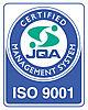 国際規格ISO9001を取得しています!