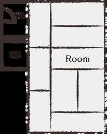 9畳和室[禁煙](2〜4名様)間取り図