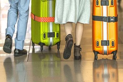 空港と乗客