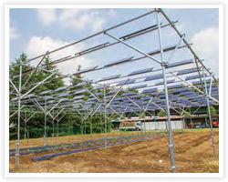 太陽光発電で売買収入を得られます。