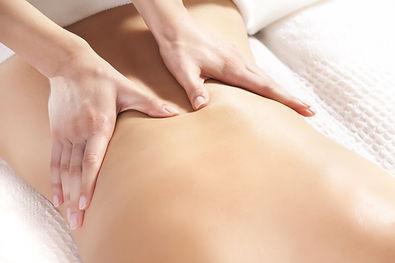 Moncton Massage Therapist working on patient at Massage Clinic Moncton