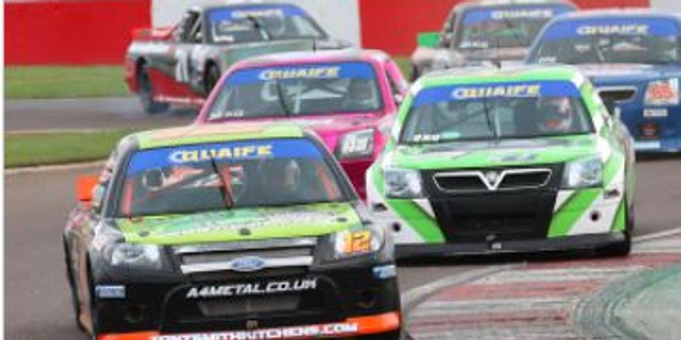 BRITISH AUTOMOBILE RACING CLUB RACE Croft Circuit