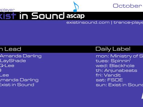 Tranceplayer October 21 Calendar