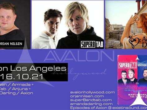 Tranceplayer Resident DJ Amanda Darling @ Avalon LA 10.16.21